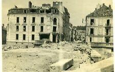 WW2.....Dans les décombres de Gien..AR de Montargis Département du Loiret