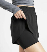 NEW Athleta  Hiit It 2 in 1 Short Black Size SMALL S NWT