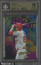 2020 Topps Finest The Man Mike Trout Angels BGS 10 PRISTINE