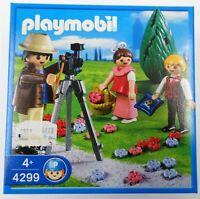 PLAYMOBIL 4299 - Fotograf mit Blumenkindern Hochzeit- NEU NEW OVP