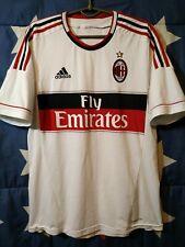 SIZE L AC MILAN ITALY 2012-2013 AWAY FOOTBALL SHIRT JERSEY ADIDAS