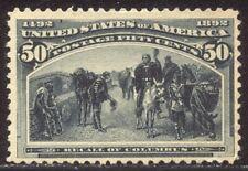 U.S. #240 Unused - 1893 50c Columbian ($190)