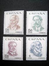 España, españa MINR. 1724-1727 post frescos ** (t 990)