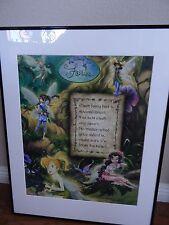 Walt Disney Fairies Framed Poster 28X22