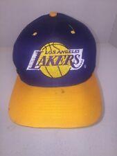 Las Angelas Lakers Hat Cap OSFA Strapback