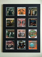 "SMALL FACES DISCOGRAPHY 14"" BY 11"" LP COVERS PICTURE MOUNTED READY TO FRAME"