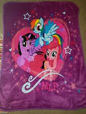 My Little Pony MLP Super Plush Soft Baby Toddler Size Throw Blanket