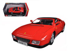 1:18 scale Ferrari Race and Play 348TS (Red) Diecast Model by Bburago