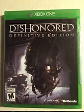 Dishonored Definitive edition xbox one game