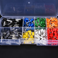 400X Isolierte Kabel Pin End Crimp Terminal Draht Kupfer Stecker 22-10AWG Kit 0G