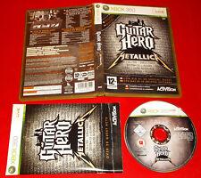 GUITAR HERO METALLICA XBOX 360 Versione Italiana 1ª Edizione ○ COMPLETO - FG