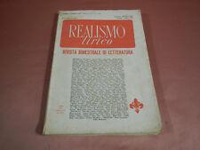 REALISMO LIRICO 1963 -1964  - N.60 - 64