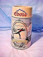 Vintage COORS STEIN THE ROCKY MOUNTAIN LEGEND SKI 1991 COORS BREW CO. & CUI INC