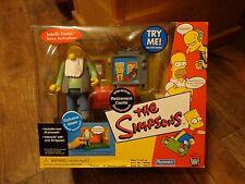2002 Playmates-The Simpsons-Retirement Castle Interactive Environment (New)