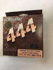 CORTLAND 444 SINKING ROCKET TAPER TYPE 2 FAST  WF11S FLY LINE