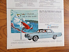 1961 GM Harrison Air Conditioning Ad Pontaic Buick Olds