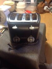 HAMILTON BEACH 4-SLICE Bagel Toaster WITH DUAL CONTROL MODEL# 24647