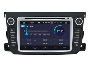 "Navi Car Gps Radio Player for Smart Fortwo II W451 2011-2014 7"" Android 10 2+16g"