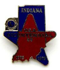 Pin Spilla Lions International Indiana U.S.A. Bicentennial 25 1776-1976