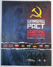 Warsaw Pact Wartime Statutes by Central Intelligence Historical Game Unused Mint