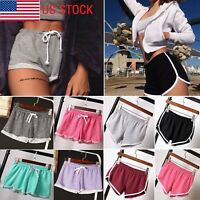 Plus Size Women Summer Causal Gym Yoga Running Shorts Beach Sports Hot Pants BJ