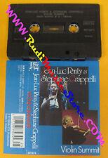 MC JEAN-LUC PONTY & STEPHANE GRAPPELLI Violin summit 1989 holla no cd lp dvd vhs