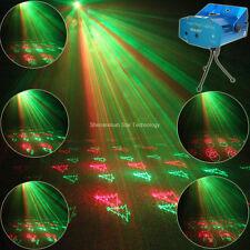 Mini RG Laser 20 Christmas Patterns Club Bar Dance Disco party Xmas DJ Light Y21