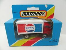 Matchbox Superfast 72e Dodge Delivery Truck 'PEPSI' - Mint/Boxed (thin wheels)