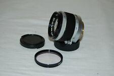 Canon 1.8 / 50 mm Rangefinder Lens. 39mm Screw Mount (LTM) Caps. 261326. UK Sale
