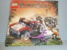LEGO® Dino 2010 Bauanleitung 7296 Dino 4Wd Trapper BA ungelocht