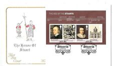 cover  topical England UK  The House of Stuart, Age of,   postmark with insert
