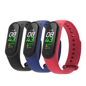 Bluetooth Smart Watch Fitbit Style Bracelet Heart Rate Monitor Pedometer Tracker
