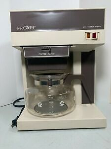 Vintage 1981 Mr.Coffee 10 cup Coffee Maker CBS-800 With Extra Pot, Tested, Works