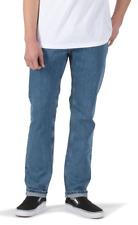 Brand New Mens Vans V16 Slim Pant Stone Wash Blue Jean 32
