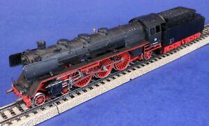 Marklin 3-Rail HO Scale Powered 4-6-2 Steam Engine & Tender 003160-9 / Needs Fix