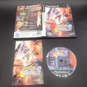 CAPCOM VS SNK 2 MARK OF THE MILLENNIUM 2001 PLAYSTATION 2 PS2 PAL COMPLETE