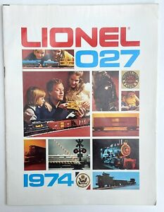 Old Original 1974 Lionel 027 Train Catalog Sales Brochure Very Rare