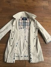 Burberry Raincoat Mac Age 6years