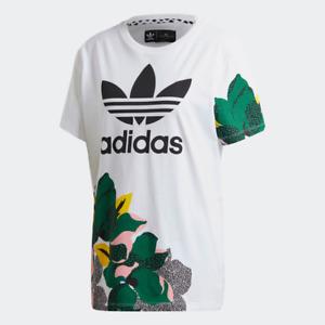 Adidas Women's HER Studio London Loose Tee Shirt, White