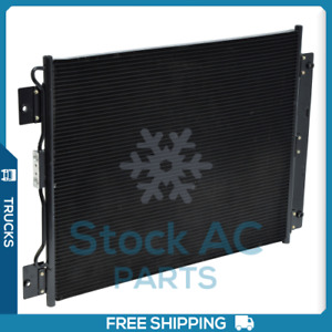 New A/C Condenser for Ford F650, F750 - 2000 to 2003 - OE# YJ420