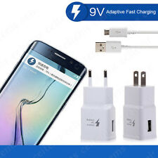 Original USB Cable Adaptive Fast Charging for Samsung Galaxy S6 S7 S8 Note 8 Lot