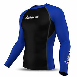 Mens Full Sleeve Thermal Compression Base Layer Shirt Top Body Armour Cold Wear