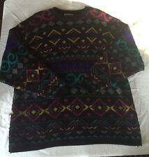 Alfred Dunner Sz 40/20W Vintage Retro Totally 80's / 90's Bill Cosby Sweater
