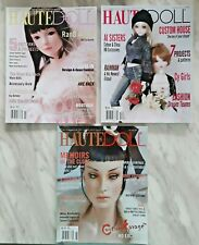 3 Haute Doll Magazines August 2006 December 2006 February 2006 Good Condition