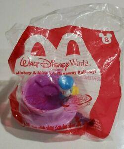 New McDonald's 2020 WALT DISNEY Donald Duck Runaway Railway Happy Meal Toy #8