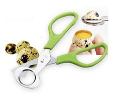 Quail Egg Stainless Steel Scissors Cracker Opener Cigar Cutter Tool