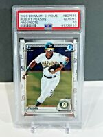 PSA 10 2020 Bowman 1st Prospect Robert Puason Chrome Card GEM MINT Oakland A's