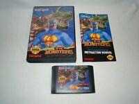 Sega Genesis King of the Monsters game cartridge complete w/ case & manual