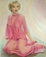 Marilyn Monroe Pin Up Art - 8 x 10 Art Print
