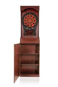 Arachnid Freestanding Arcade Cabinet with Cricket Pro 800 Electronic Dartboard
